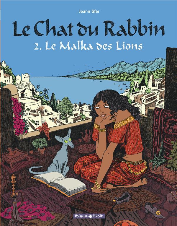 LE CHAT DU RABBIN T.2  -  LE MALKA DES LIONS