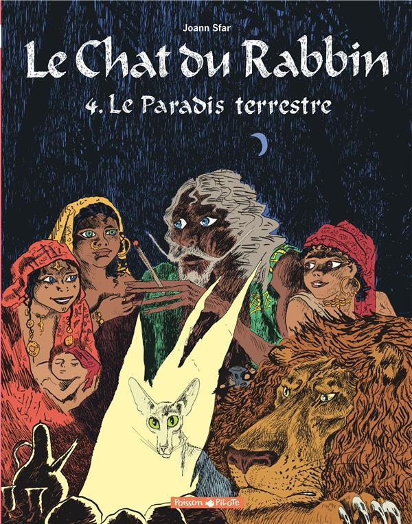 LE CHAT DU RABBIN T.4  -  LE PARADIS TERRESTRE