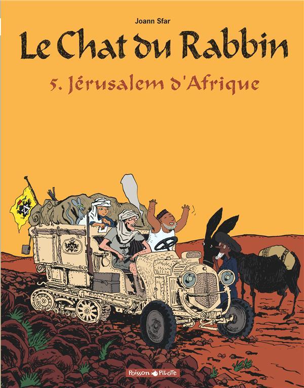 LE CHAT DU RABBIN T.5  -  JERUSALEM D'AFRIQUE