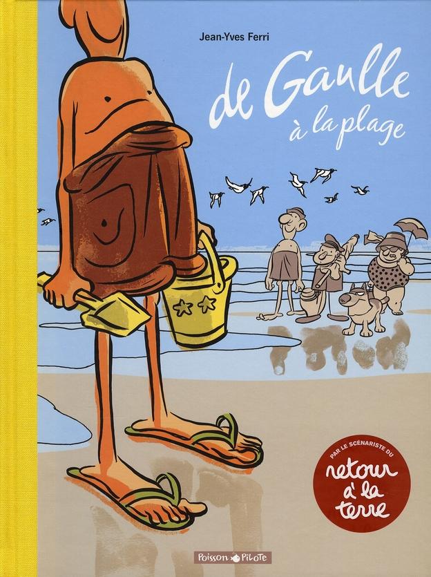 DE GAULLE A LA PLAGE