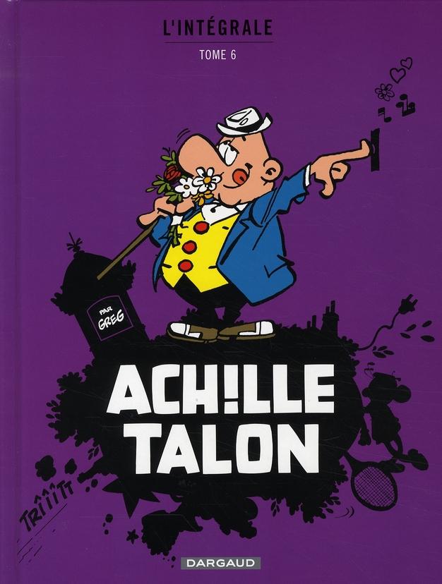 ACHILLE TALON (INTEGRALE) - AC GREG DARGAUD