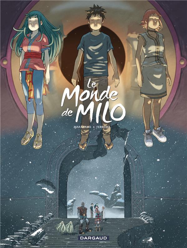 LE MONDE DE MILO T.8 MARAZANO, RICHARD  DARGAUD