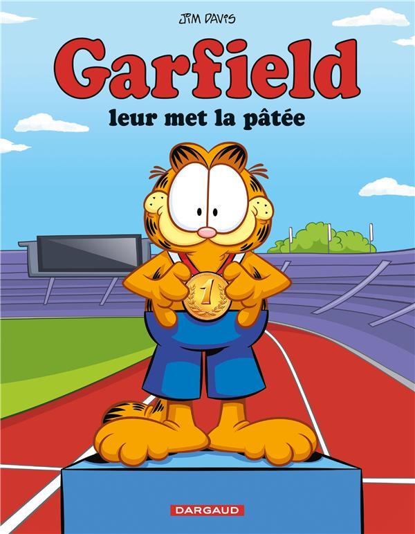 GARFIELD T.70  -  GARFIELD LEUR MET LA PATEE