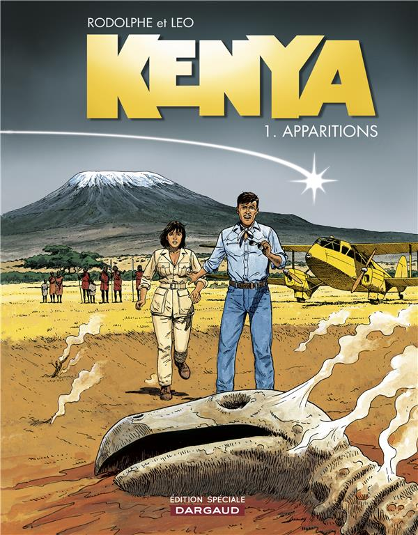 KENYA T.1  -  APPARITIONS RODOLPHE/LEO DARGAUD