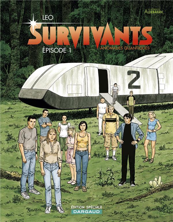 SURVIVANTS  -  ANOMALIES QUANTIQUES T.1  -  EPISODE 1