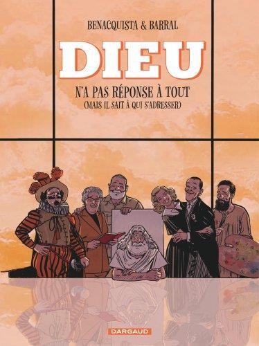 DIEU N'A PAS REPONSE A TOUT - TOME 2  NOUVELLE EDITION, CHANGEMENT DE COUVERTURE BENACQUISTA, TONINO  DARGAUD