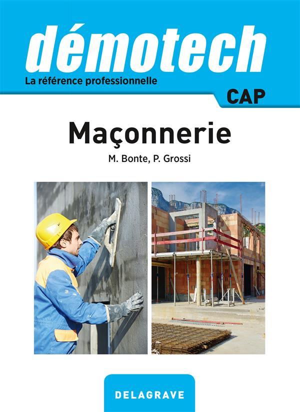 DEMOTECH MACONNERIE CAP BONTE Delagrave