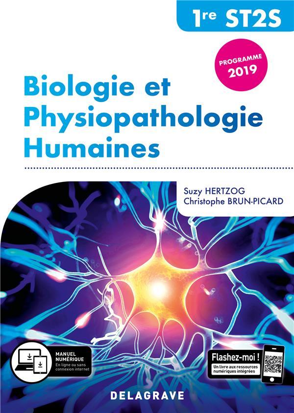 BIOLOGIE ET PHYSIOPATHOLOGIE HUMAINES  -  1RE ST2S  -  POCHETTE ELEVE (EDITION 2019) HERTZOG SUZANNE DELAGRAVE