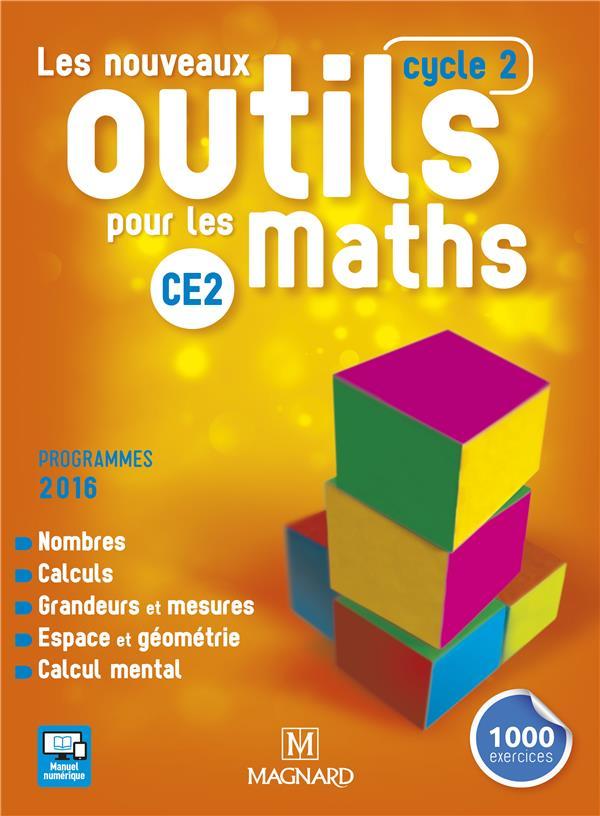 LES NOUVEAUX OUTILS POUR LES MATHS CE2 (2017) - MANUEL DE L'ELEVE FREY-TOURNIER Magnard
