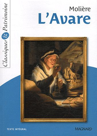 XXX - N.1 L'AVARE DE MOLIERE
