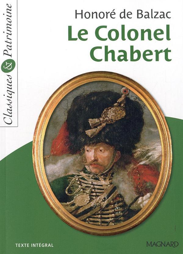 DE BALZAC HONORE - N  21 LE COLONEL CHABERT