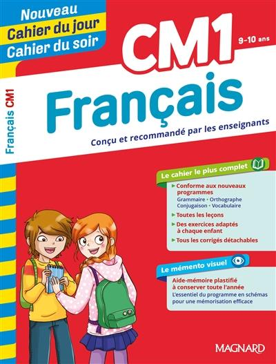 CAHIERS DU JOUR SOIR  -  FRANCAIS  -  CM1  MAGNARD