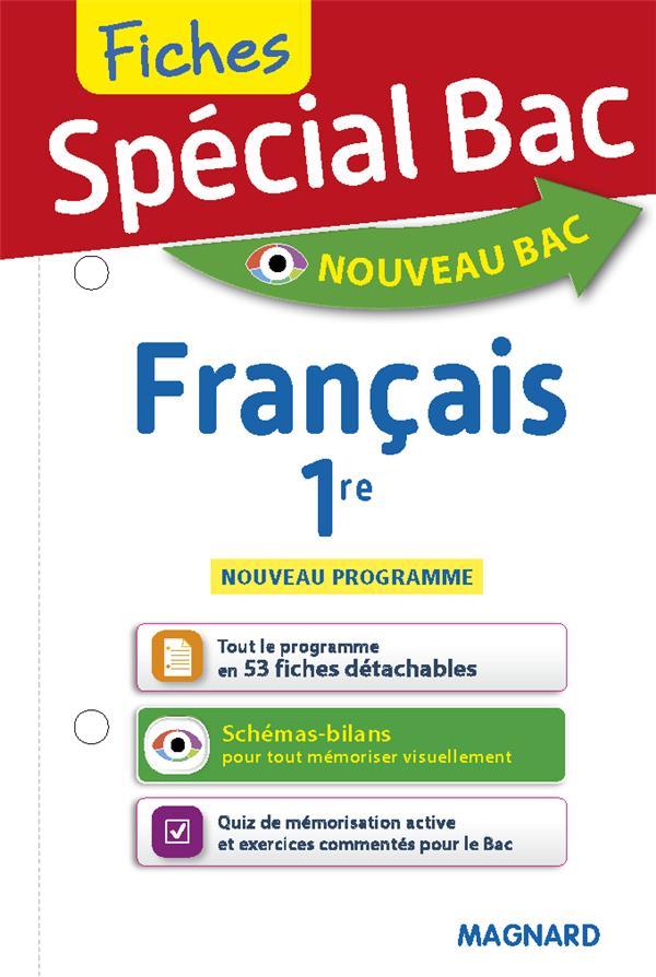 SPECIAL BAC - FICHES FRANCAIS 1RE
