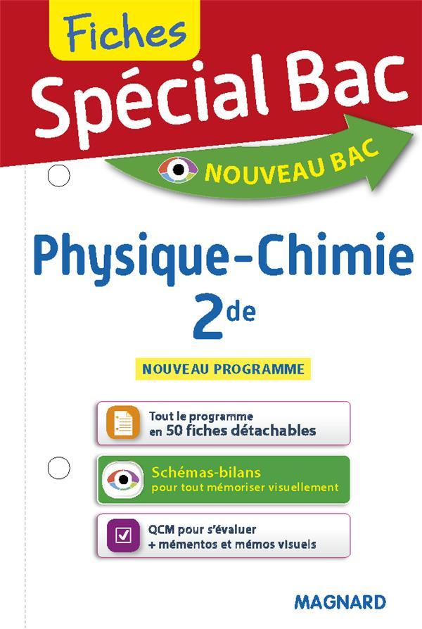 FICHES PHYSIQUE-CHIMIE 2DE COLLECTIF MAGNARD