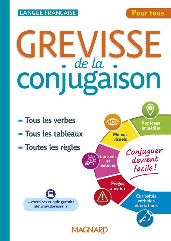 GREVISSE DE LA CONJUGAISON