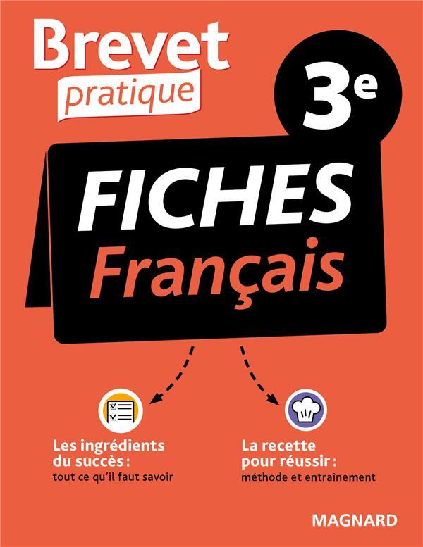 BREVET PRATIQUE FICHES FRANCAIS 3E COLY SYLVIE MAGNARD
