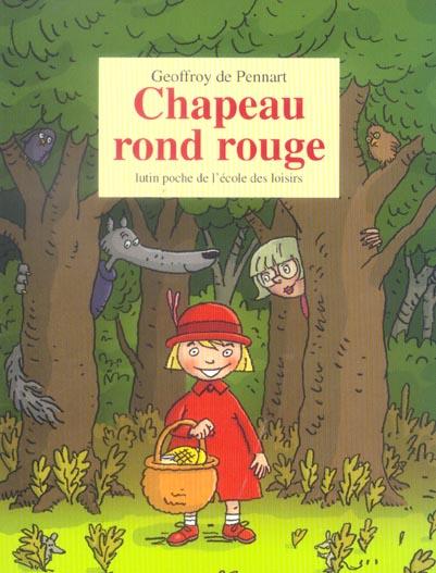 CHAPEAU ROND ROUGE PENNART G DE EDL