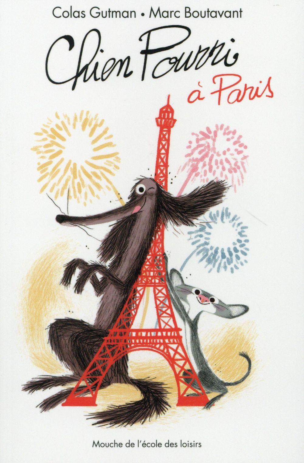 CHIEN POURRI A PARIS
