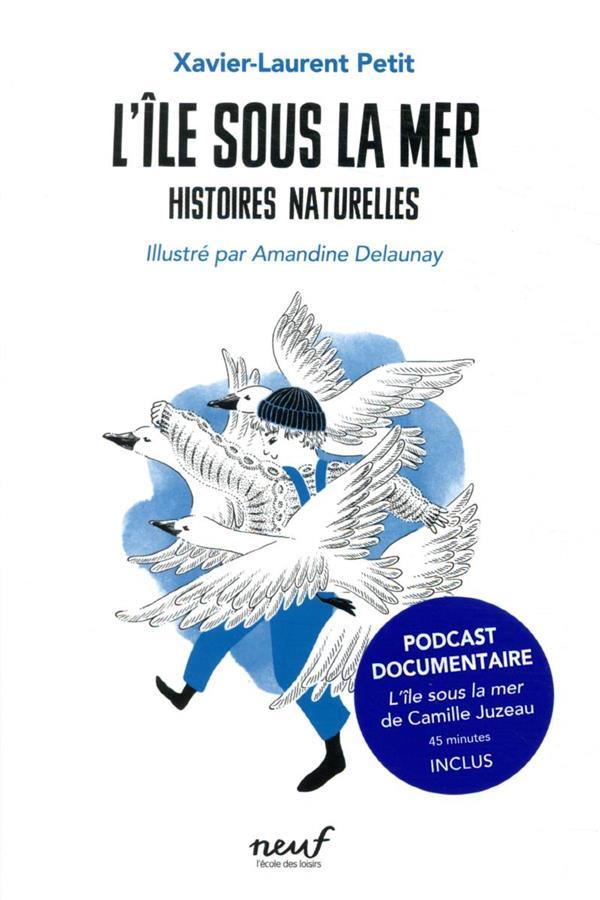 HISTOIRES NATURELLES  -  L'ILE SOUS LA MER : HISTOIRES NATURELLES T4 PETIT/DELAUNAY EDL
