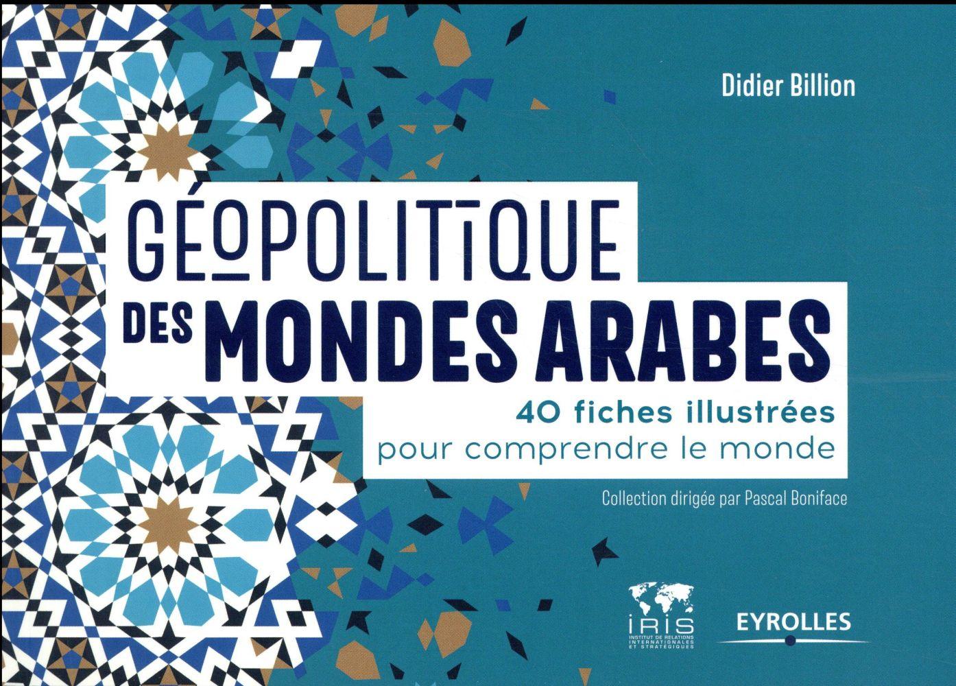 GEOPOLITIQUE DES MONDES ARABES - 40 FICHES ILLUSTREES POUR COMPRENDRE LE MONDE