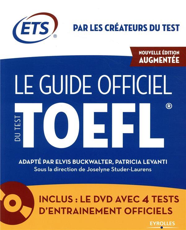 GUIDE OFFICIEL DU TEST TOEFL