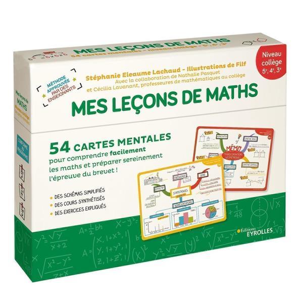 MES LECONS DE MATHEMATIQUES  -  NIVEAU COLLEGE 5E, 4E, 3E ELEAUME LACHAUD/FILF EYROLLES
