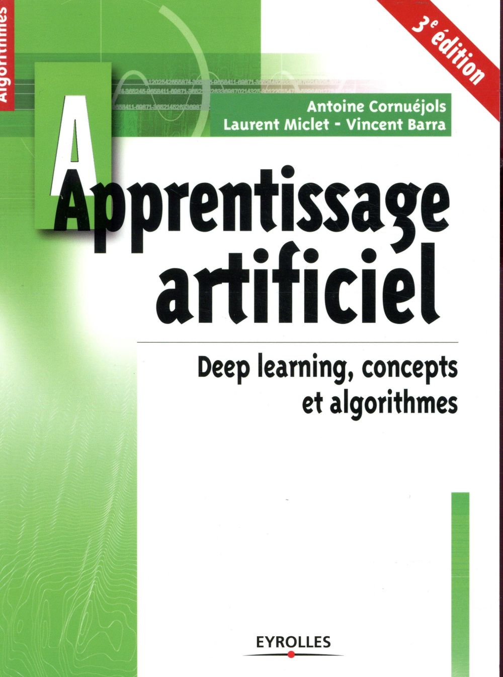 APPRENTISSAGE ARTIFICIEL   3E EDITION