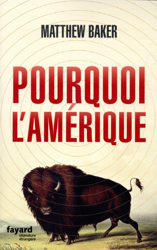 POURQUOI L'AMERIQUE BAKER, MATTHEW FAYARD