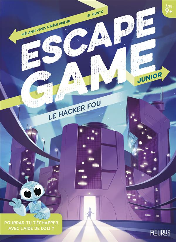 ESCAPE GAME JUNIOR. LE HACKER FOU