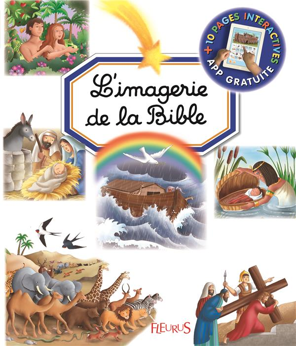 L'IMAGERIE DE LA BIBLE Beaumont Emilie Fleurus