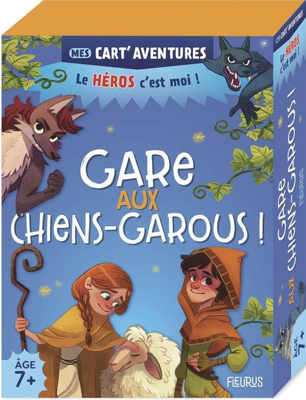 GARE AUX CHIENS-GAROUS !