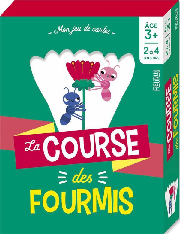 LA COURSE DES FOURMIS - 3 ANS ET +  Lgdj