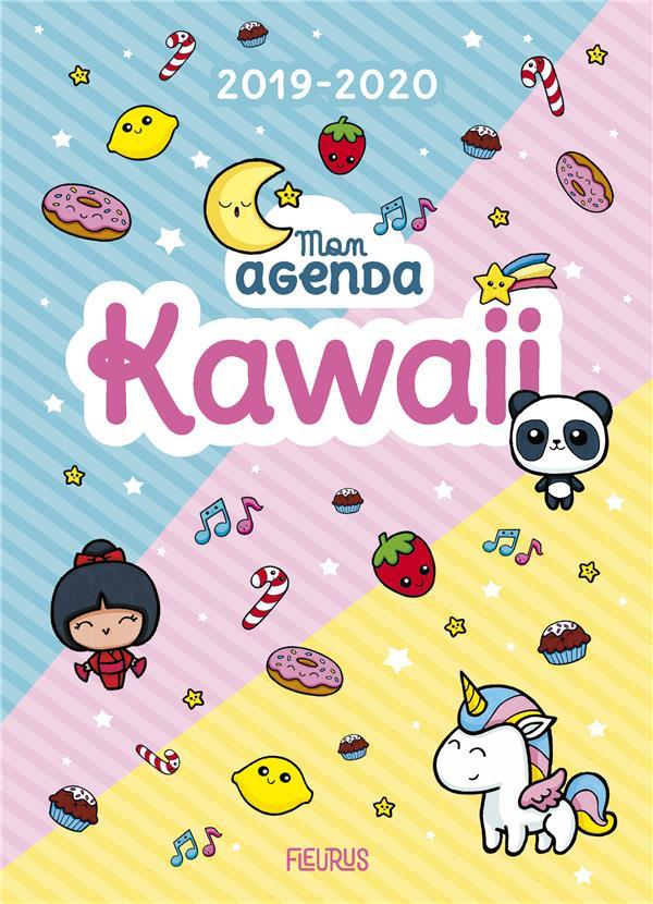MON AGENDA KAWAII 2019-2020 CHATAIGNON/JEZEWSKI Lgdj