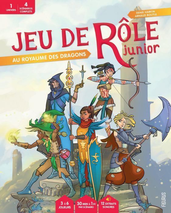 JEU DE ROLE JUNIOR  -  AU ROYAUME DES DRAGONS
