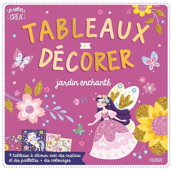LES ATELIERS CREA' : TABLEAUX A GRATTER  -  JARDIN ENCHANTE XXX FLEURUS
