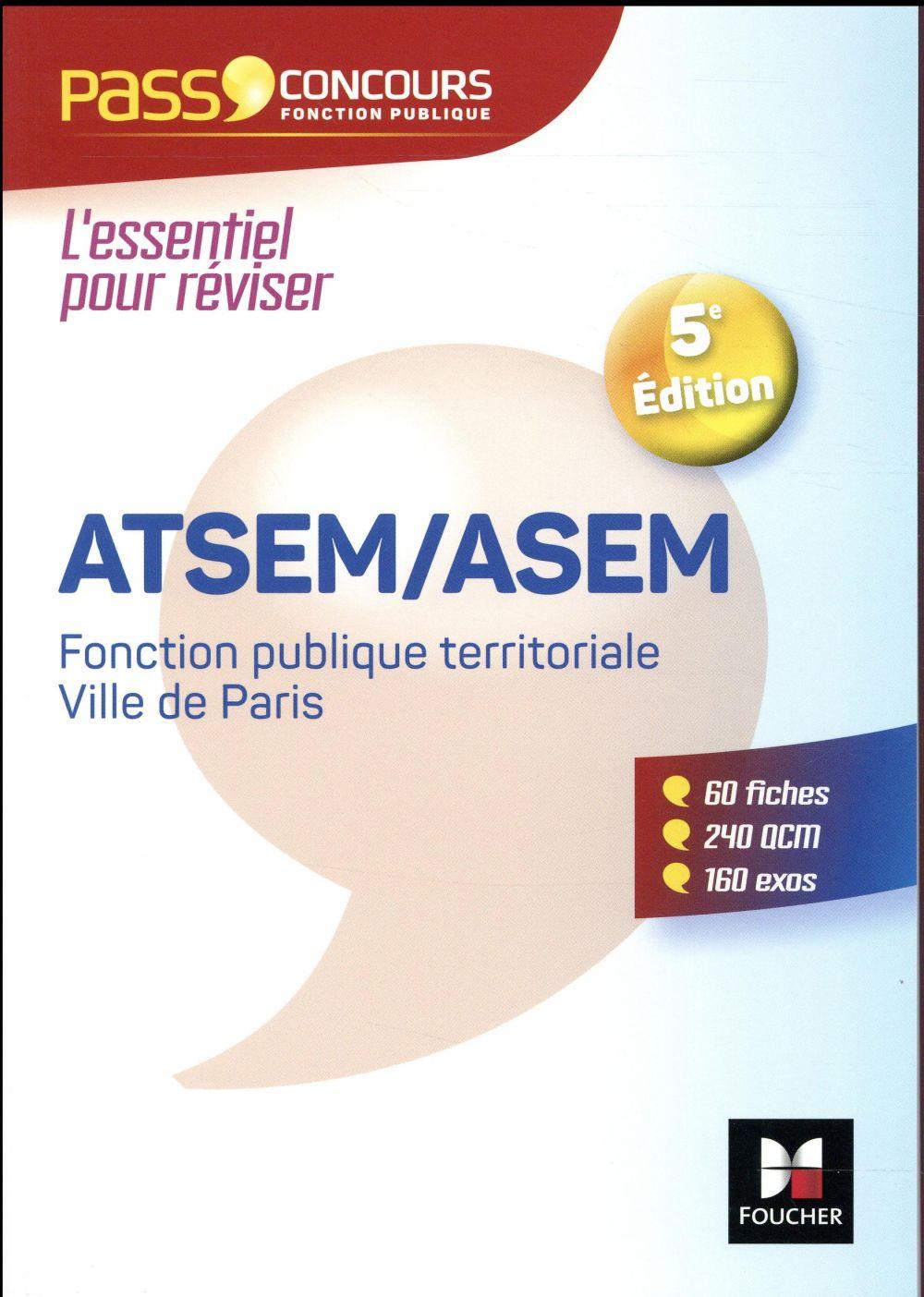 PASS'CONCOURS ATSEMASEM 5E EDITION   2017 N 41