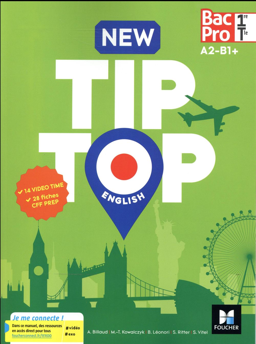 NEW TIP-TOP ENGLISH 1RE/TLE BAC PRO - ED. 2017 - MANUEL ELEVE