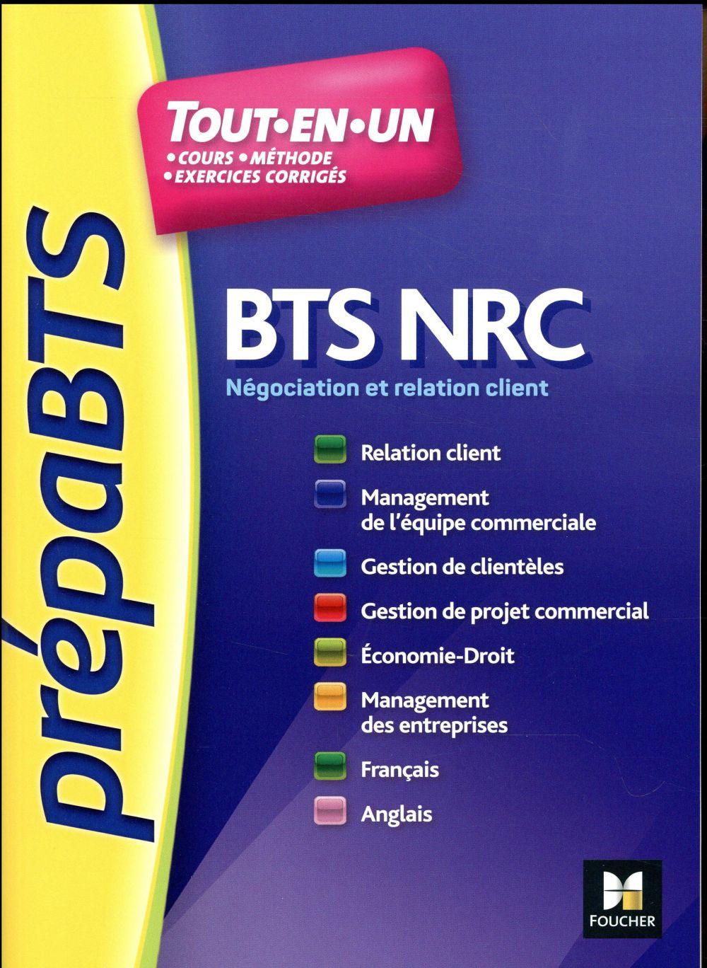 - PREPABTS BTS NRC -TOUTES LES MATIERES - N 5