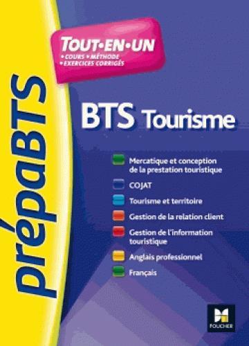 PREPABTS  -  BTS TOURISME  -  TOUTES LES MATIERES NOUGER, LAURENCE Foucher