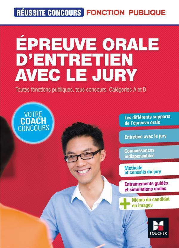 64 - REUSSITE CONCOURS - EPREUVE ORALE D'ENTRETIEN AVEC LE JURY - TOUTES FONCTIONS PUBLIQUES, CAT A  FOUCHER