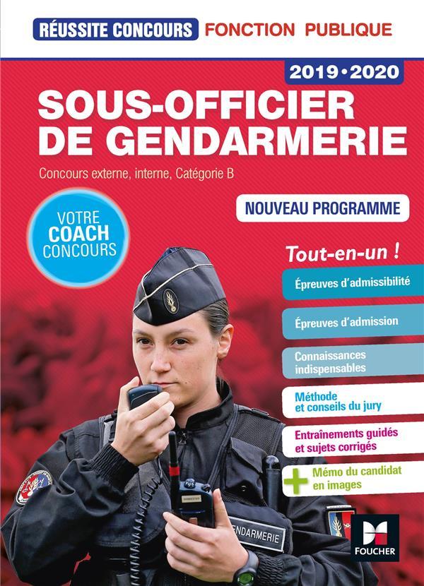 REUSSITE CONCOURS - SOUS-OFFICIER DE GENDARMERIE - 2019-2020  FOUCHER