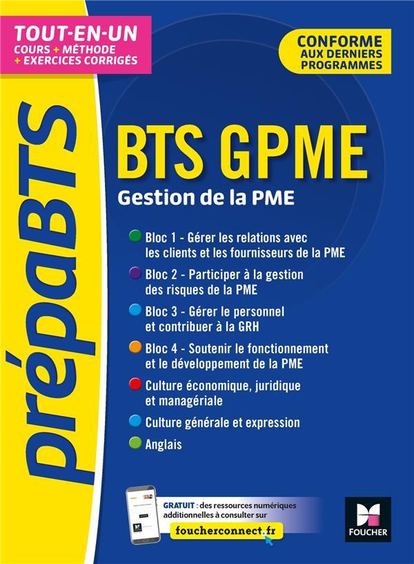 PREPABTS - BTS GESTION DE LA PME - TOUTES L ES MATIERES - REVISION ET ENTRAINEMENT