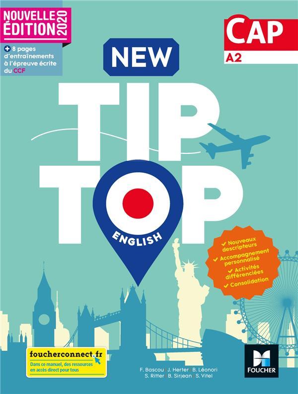 NEW TIP TOP ENGLISH CAP - ED. 2020 - LIVRE ELEVE