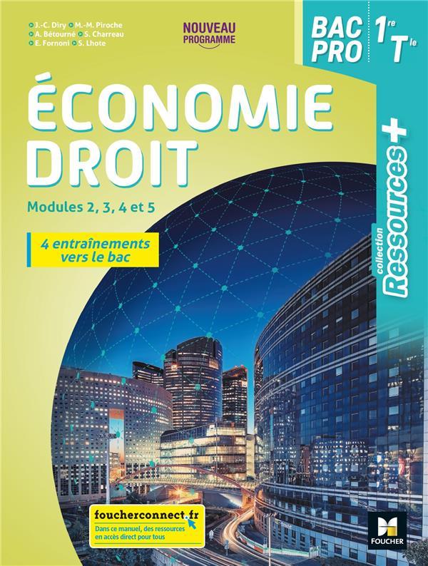RESSOURCES +  -  ECONOMIE-DROIT  -  1RE, TERMINALE BAC PRO  -  LIVRE ELEVE (EDITION 2020)