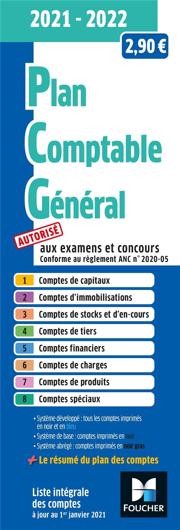 PLAN COMPTABLE GENERAL (EDITION 20212022)