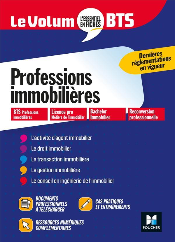 LE VOLUM'  -  PROFESSIONS IMMOBILIERES  -  BTS CORNU-GAIDAN, EVELYNE FOUCHER