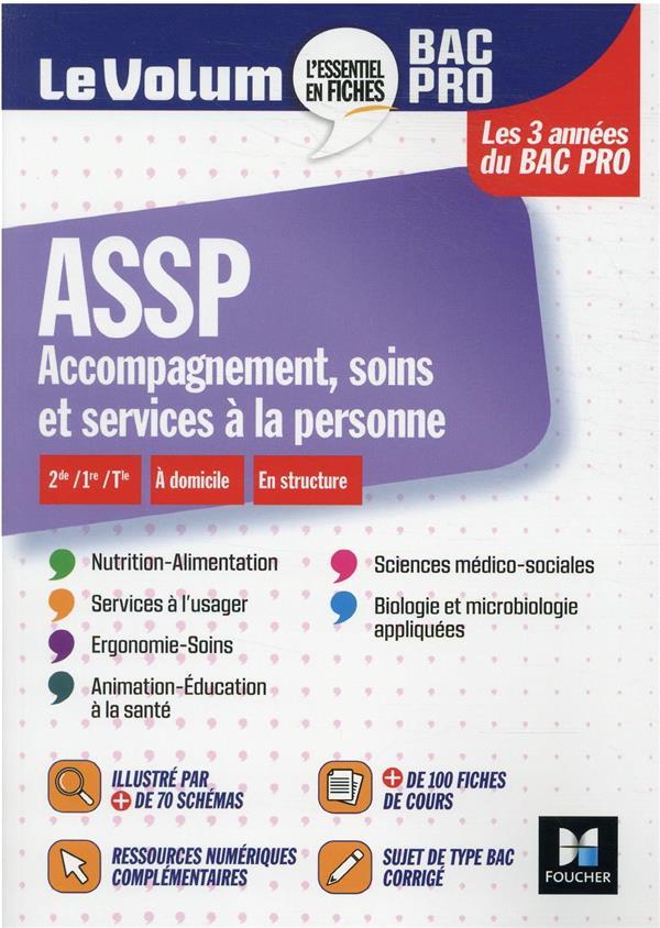 LE VOLUM'  -  ASSP, ACCOMPAGNEMENT, SOINS ET SERVICES A LA PERSONNE  -  BAC PRO