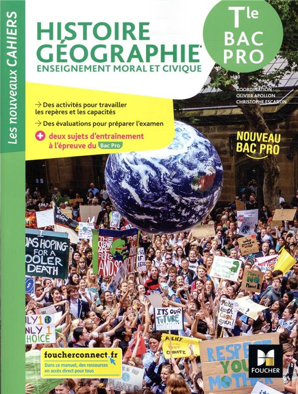 LES NOUVEAUX CAHIERS  -  HISTOIRE-GEOGRAPHIE-EMC  -  TERMINALE BAC PRO  -  LIVRE DE L'ELEVE (EDITION 2021)