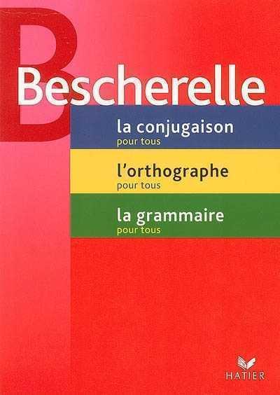 BESCHERELLE - ETUI : CONJUGAISON, ORTHOGRAPHE ET GRAMMAIRE XXX HATIER JEUNESSE
