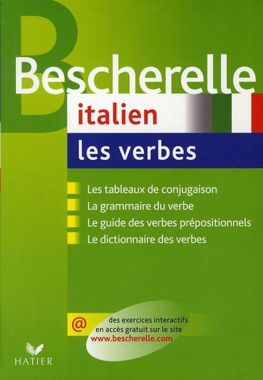 BESCHERELLE ITALIEN  -  LES VERBES